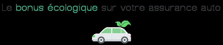 bonus ecologique assurance voiture