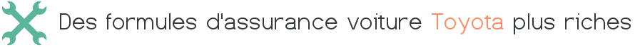 formule assurance voiture toyota