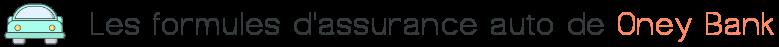 formules assurance auto oney bank