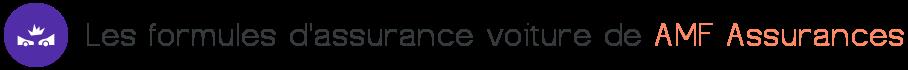 formules assurance voiture amf assurances
