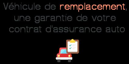 vehicule remplacement garantie assurance auto