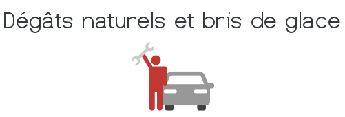 assurance auto degats