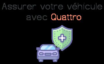 assurer vehicule quattro assurances