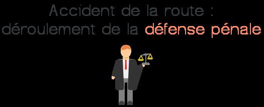 defense penale accident route