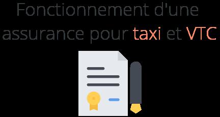 fonctionnement assurance taxi vtc