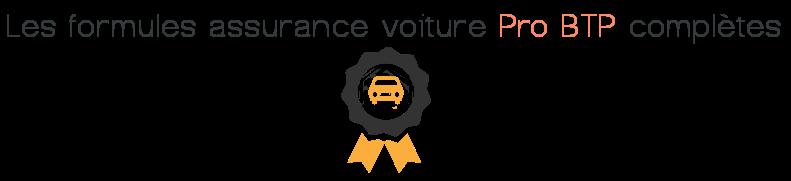 formules completes assurance voiture pro btp