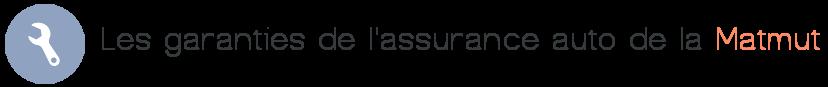 garanties assurance auto matmut